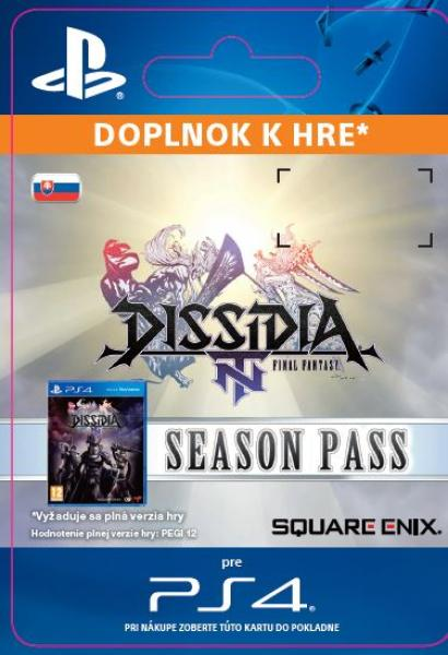 ESD SK PS4 - DISSIDIA® FINAL FANTASY® NT Season Pass