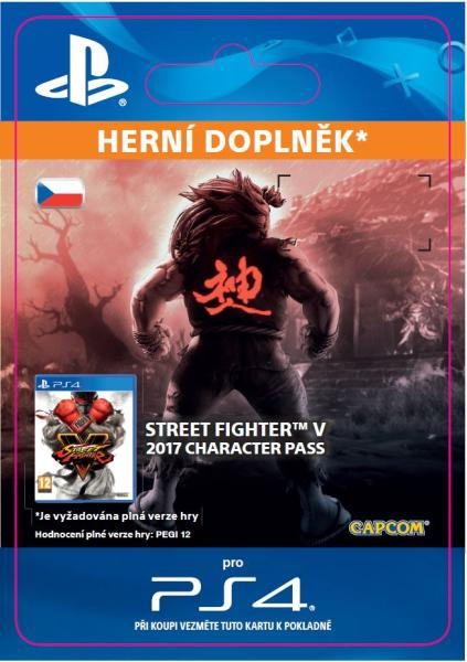 ESD CZ PS4 -Street Fighter V - Character Pass 2017