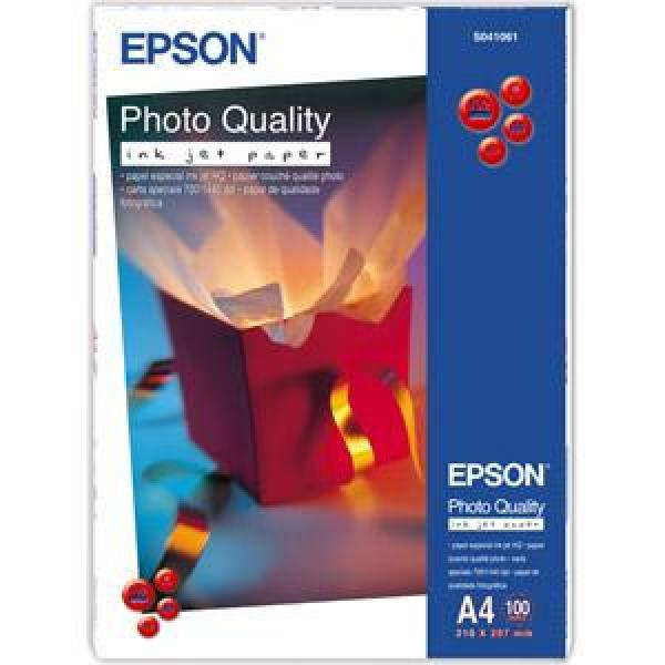 EPSON A4, Photo Quality Inkjet Paper (100listů)