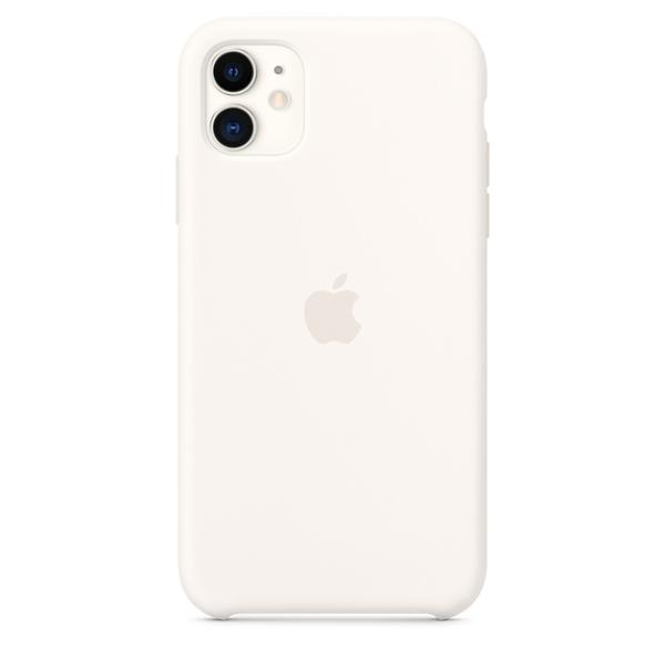 iPhone 11 Silicone Case - White