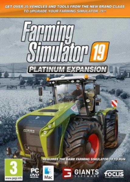 PC - Farming Simulator 19: Platinum Expansion