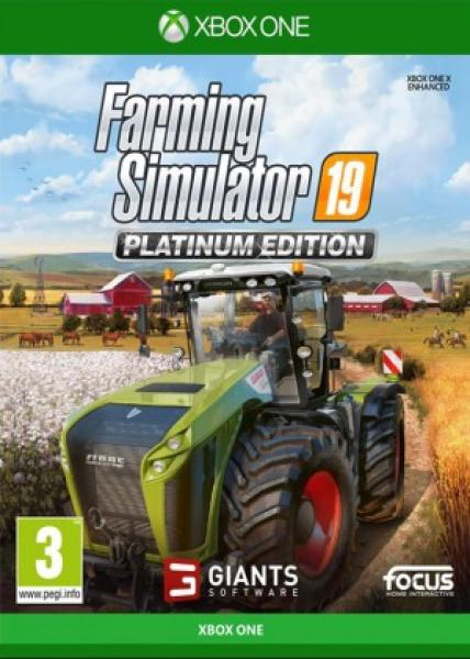 XONE - Farming Simulator 19: Platinum Edition