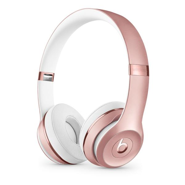 Beats Solo3 WL Headphones - Rose Gold