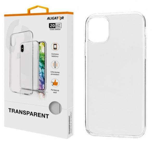 ALIGATOR Pouzdro Transparent Apple iPhone 11