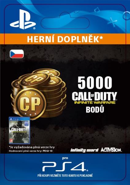 ESD CZ PS4 - 5, 000 Call of Duty®: Infinite Warfare Points
