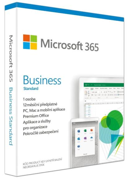Microsoft 365 Business Standard P6 Mac/ Win, 1 rok, SK