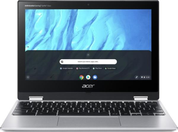 "Acer Chromebook Spin 11 - 11, 6T""/ M8183C/ 32GB/ 4G/ HD/ Chrome stříbrný"