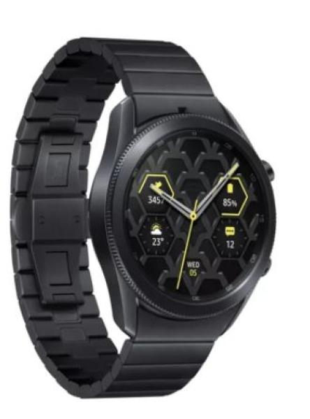 SAMSUNG Galaxy Watch3 45mm R840 Titanium Black