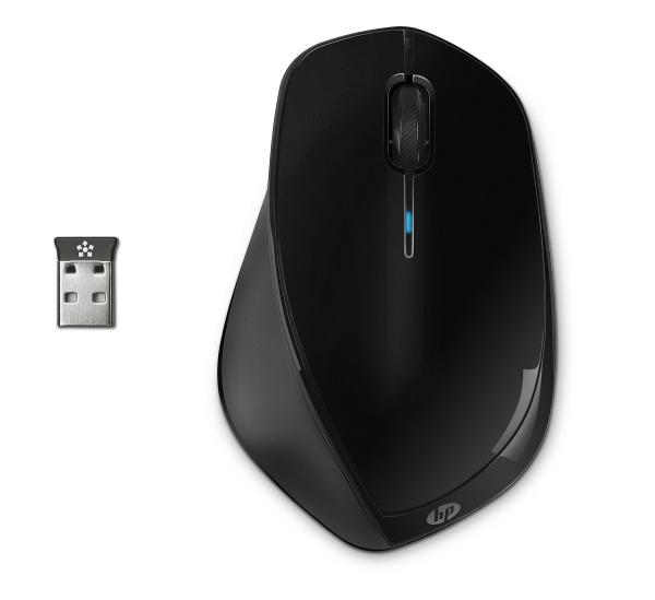 HP x4500 Wireless Mouse Black