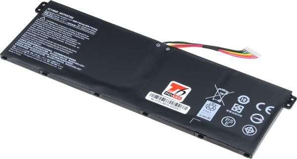 Baterie T6 power Acer Aspire ES1-711, E5-721, V3-371, Swift SF314-52, 3150mAh, 48Wh, 4cell, Li-ion