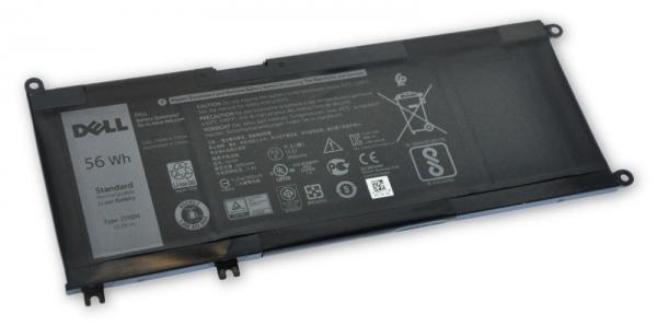 Dell Baterie 4-cell 56W/ HR LI-ION pro Inspiron 7557, 3579, 3779, 5587, Latitude 3380, 3480, 3490, 3590
