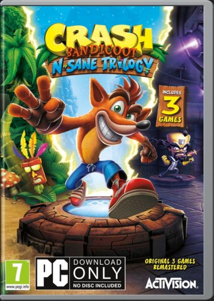 PC - Crash Bandicoot N. Sane Trilogy