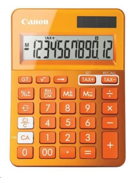 Canon Kalkulacka LS-123K-Metallic ORANGE