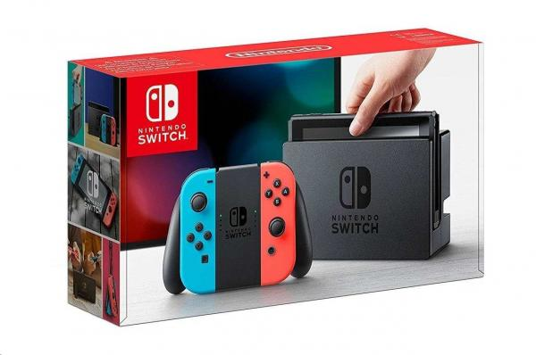 Nintendo Switch Neon Red&Blue Joy-Con