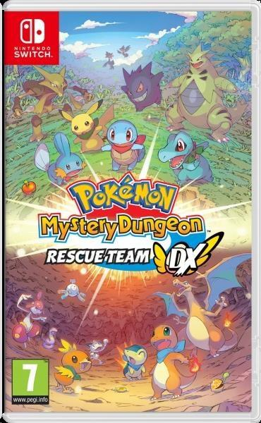 Nintendo Switch hra - Pokémon Mystery Dungeon: Rescue Team DX