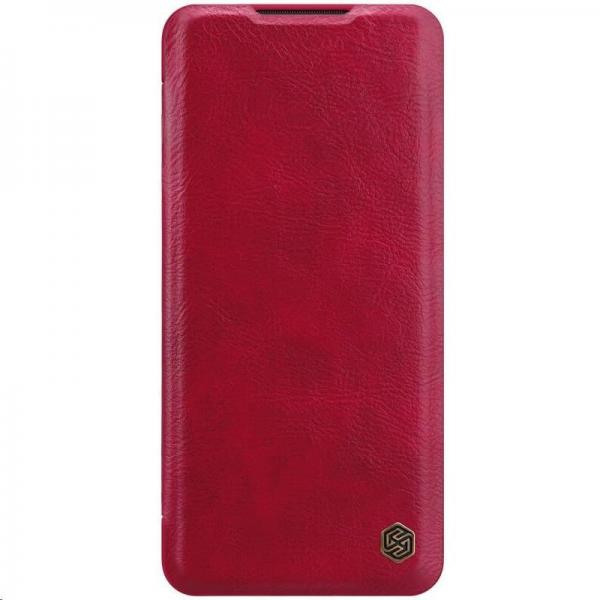 Nillkin Qin Leather Case pro Xiaomi Mi Note 10 / 10 Pro (Red)