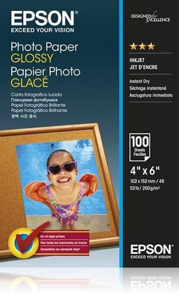 EPSON Paper Photo Glossy 10x15cm 100 sheet