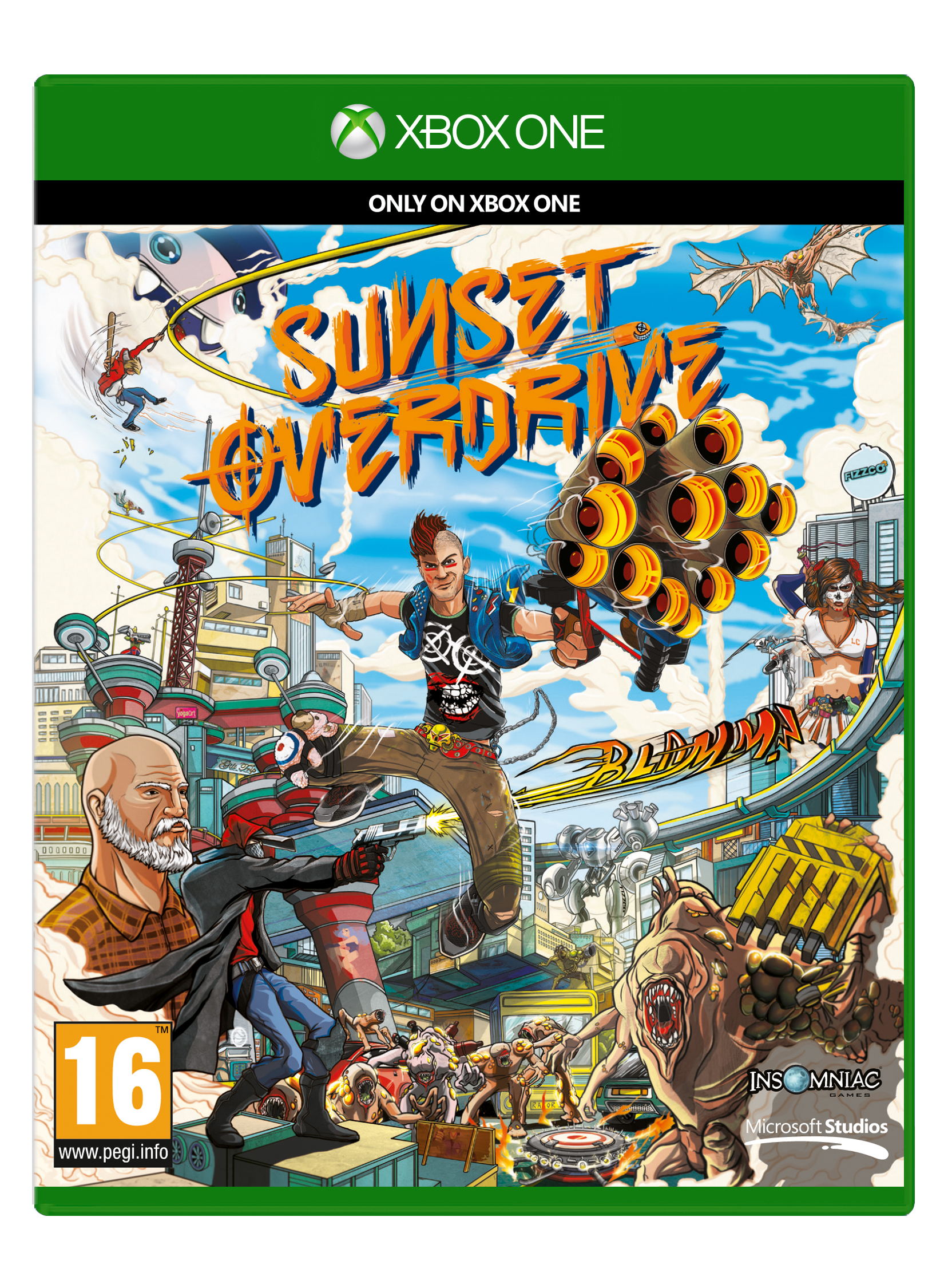 XBOX ONE - Sunset Overdrive0